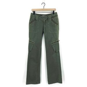 Joie Cargo Boot Cut Green Jeans